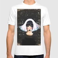 Giedi Mens Fitted Tee White SMALL