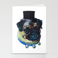 Sir Pugs Stationery Cards