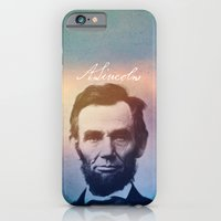 iPhone & iPod Case featuring Stand Firm. Lincoln. 1809-1865. by Will Hill