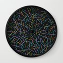 Kerplunk Denim Wall Clock