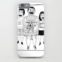 iPhone & iPod Case featuring BACK OFF by WASTED RITA