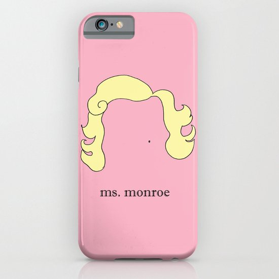 Ms. Monroe iPhone & iPod Case