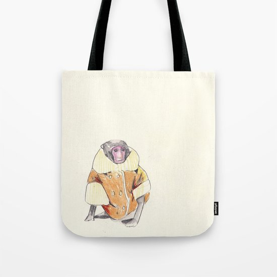 The Stylish Monkey Tote Bag