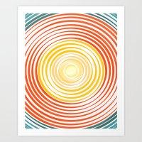GET BY Art Print