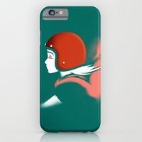 Moped Girl iPhone 6 Slim Case
