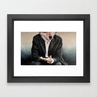 The Politician Framed Art Print