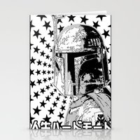 Boba Star Stationery Cards