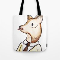 Master Fox Tote Bag