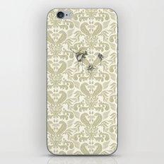 Three Bees On Baroque iPhone & iPod Skin
