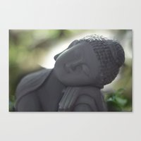 Canvas Print featuring Peacefull thoughts by ipixel- Ana