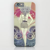 iPhone & iPod Case featuring UNIVERSOS PARALELOS 003 by Plástica