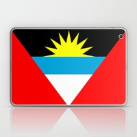 Antigua and Barbuda country flag Laptop & iPad Skin