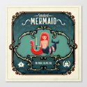 Delicious Mermaid Canvas Print