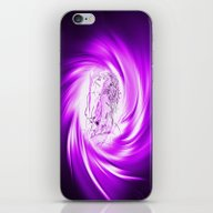 iPhone & iPod Skin featuring Space And Time 8  Erotic by Walter Zettl