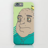iPhone & iPod Case featuring King Sh... by The Drawing Beard
