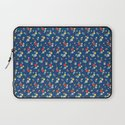 blossom ditsy in monaco blue Laptop Sleeve