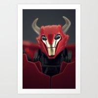 Warriors Come In All Siz… Art Print
