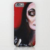Morticia Addams iPhone 6 Slim Case