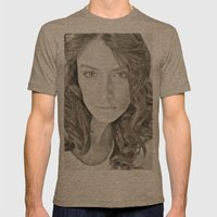 Faces Mens Fitted Tee Tri-Coffee SMALL