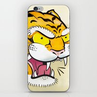 Tiger Tattoo Flash iPhone & iPod Skin