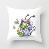 Just Wanna Be Free! Throw Pillow