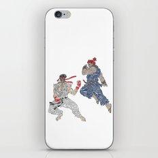 Ryu VS Akuma iPhone & iPod Skin