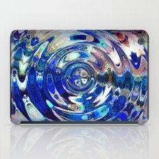 Water Element Ripple Pattern iPad Case