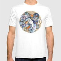 Turuncu Mens Fitted Tee White SMALL