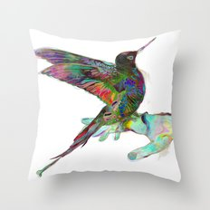 Hold Me Throw Pillow