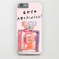 Perfume Coco Mademoiselle Illustration iPhone 6 Slim Case