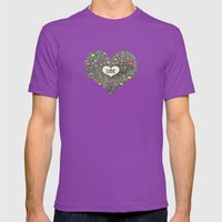 love Mens Fitted Tee Ultraviolet SMALL