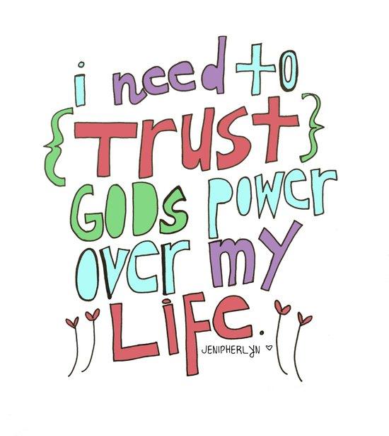 I need to Trust. Art Print