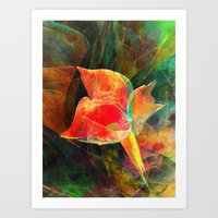 A Little Flower 2 Art Print