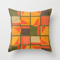 Geometric Throw Pillow