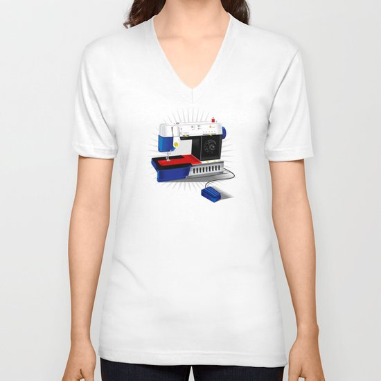 Ma-Singer V-neck T-shirt