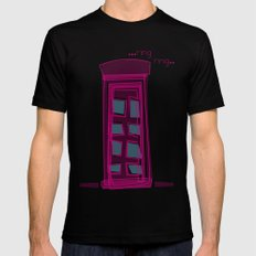 London calling..... Mens Fitted Tee Black SMALL