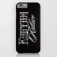 iPhone & iPod Case featuring Kustom Kulture Sketch by tomekbiernat