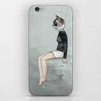 Cat Woman iPhone & iPod Skin