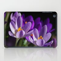 Purple Crocus iPad Case