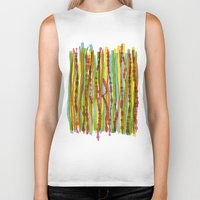 patterns - spaghettis 1 Biker Tank