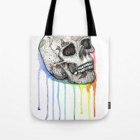 Skull Candy Coating Tote Bag