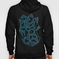 Abstraction Lines Waterc… Hoody