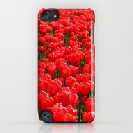 Red Tulips iPod touch Slim Case