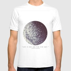 One Fine Star SMALL White Mens Fitted Tee