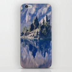 Ghost Ship, Creepy Crater Lake iPhone & iPod Skin