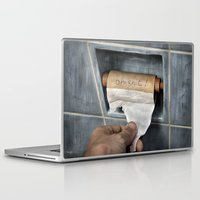 Laptop & iPad Skin featuring the last thought by teddynash
