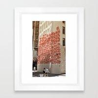 Graffiti on Abercrombie 03 Framed Art Print