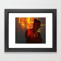 Wulfenite Framed Art Print