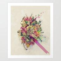 Kingdom Of Monarchs  Art Print