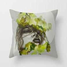 Zoe by carographic, Carolyn Mielke Throw Pillow